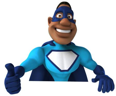 strong toughness: Superhero Stock Photo