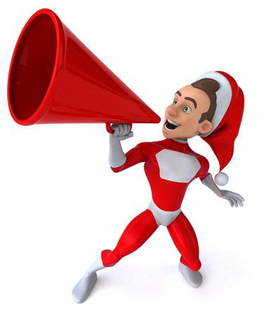 saviour: Santa claus Stock Photo