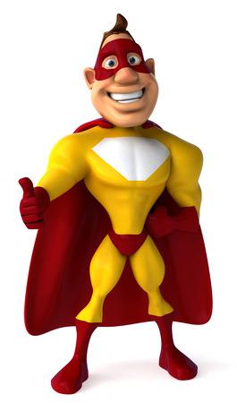 Superhero 版權商用圖片