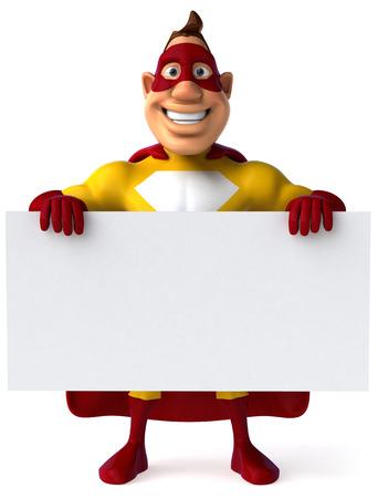 saviour: Superhero Stock Photo