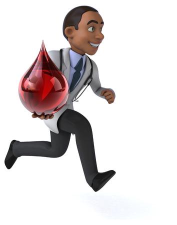 globule: Fun doctor Stock Photo