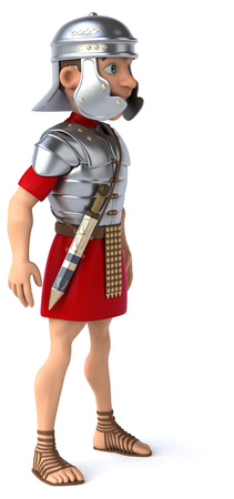 legionary: Roman legionary soldier Stock Photo