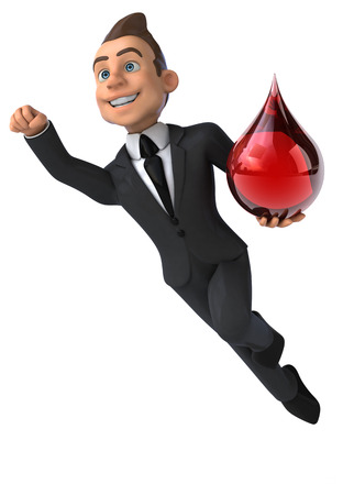 globule: Fun businessman