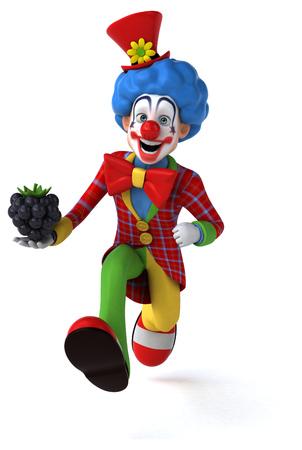 backgroud: Fun clown