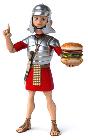 infantry: Roman soldier