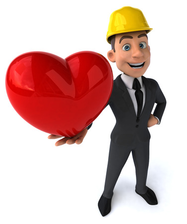heart hard work: Fun architect