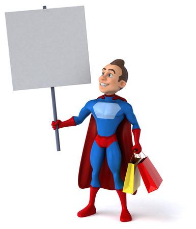 toughness: Fun superhero