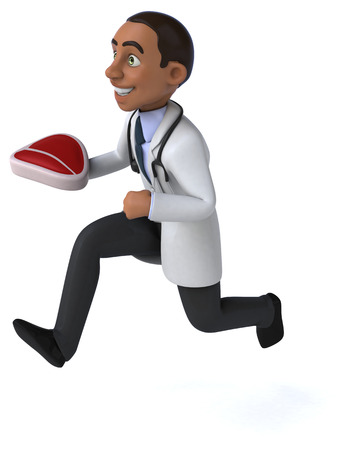 Fun doctor Stock Photo