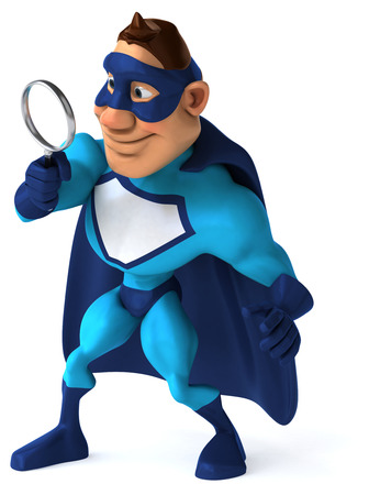 private eye: Fun superhero