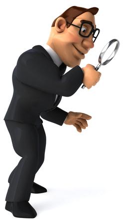 private eye: Fun businessman