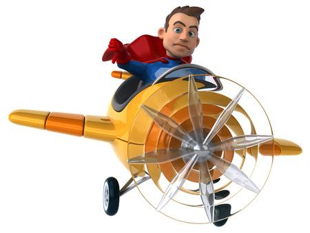 fighter pilot: Fun superhero