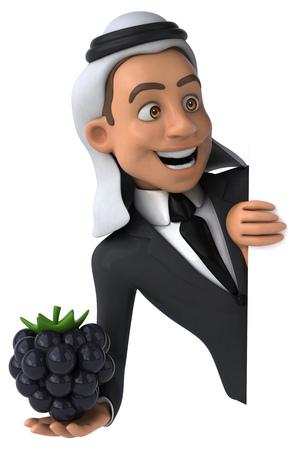 Arab business man Stock Photo