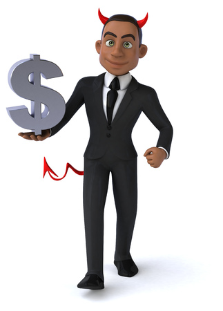 dictate: Fun businessman