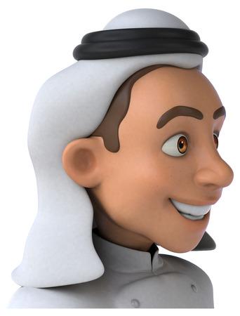 Arab chef
