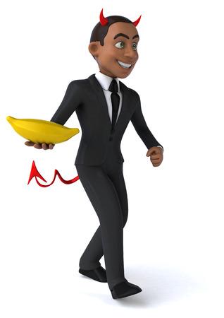 bad banana: Evil businessman