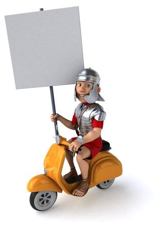soldado romano diversión