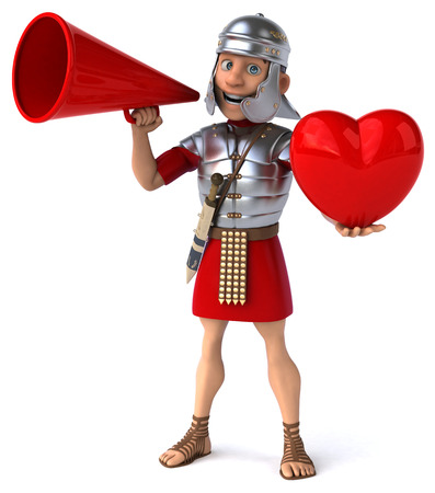 love strategy: Roman soldier