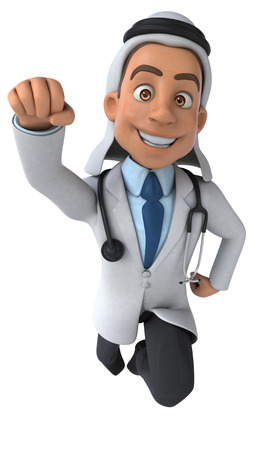 médico árabe Foto de archivo