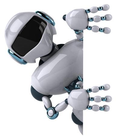 Karikaturroboter Standard-Bild - 81420428