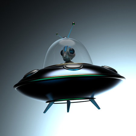 invader: Alien Stock Photo