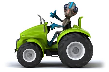 startrek: Fun alien Stock Photo