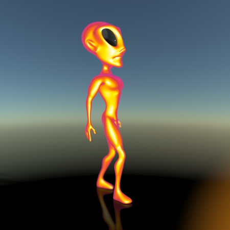 roswell: Alien Stock Photo