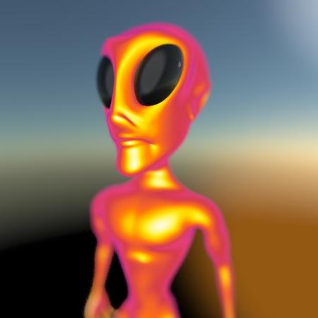 startrek: Alien Stock Photo