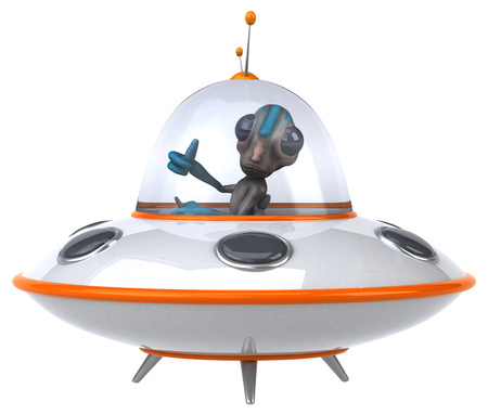 Alien Stock Photo