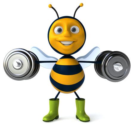 horticulturist: Fun bee Stock Photo
