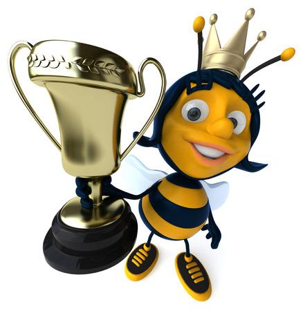 Fun bee Banco de Imagens