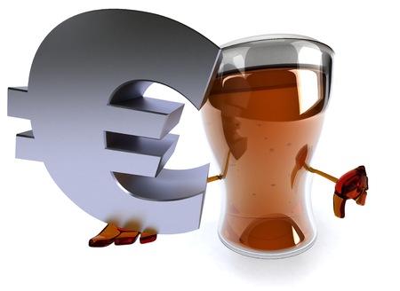 alcoholismo: cerveza divertida