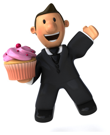 serious business: Business man