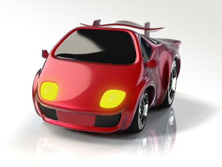 Cute sports car
