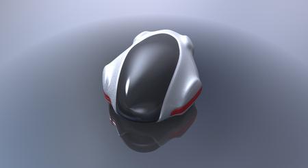 Futuristic car Stock Photo