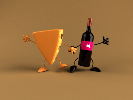 cheddar: Cheese character with soda character