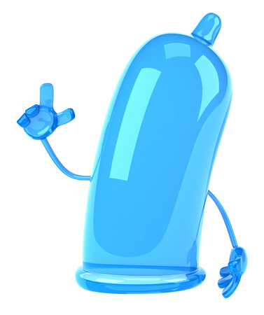 Condom character