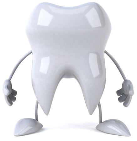 Carattere di dente  Archivio Fotografico - 81107984