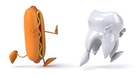 decayed teeth: diente diversi�n