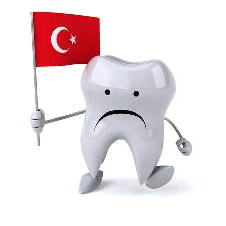 turk: Fun tooth