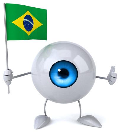 Fun eye Imagens