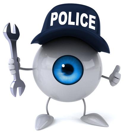 vision repair: Fun eye