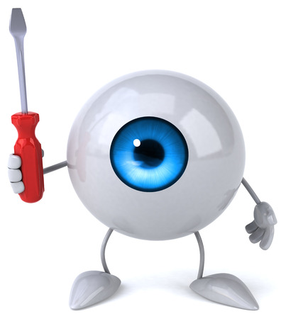 vision repair: Fun eye