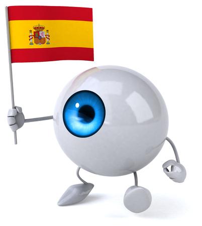 spanish looking: Fun eye