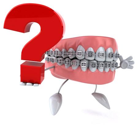eating questions: Fun teeth