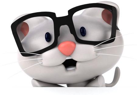 cat's eye glasses: Fun cat
