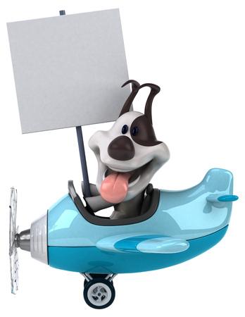 jack plane: Fun dog Stock Photo