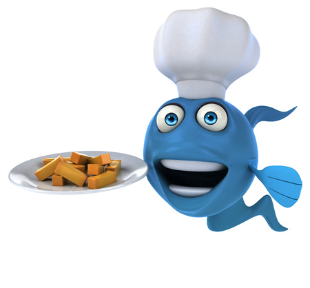 fish and chips: Fun fish and chips