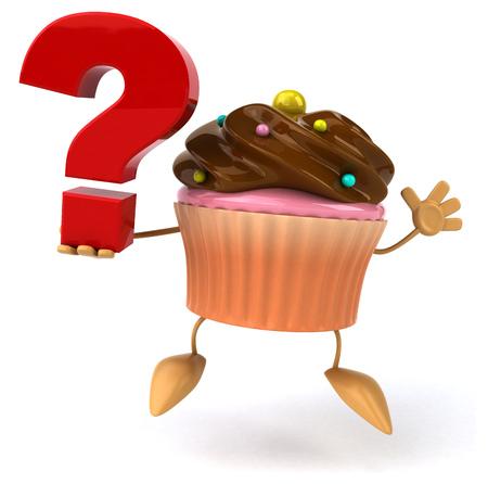 glazed: Cupcake