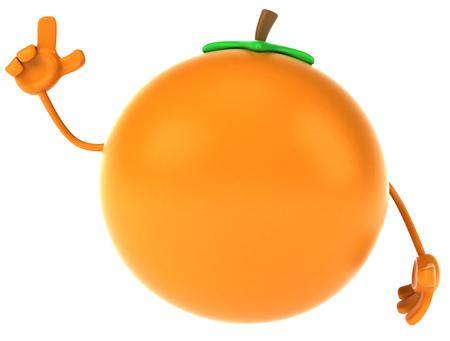 手で漫画オレンジ