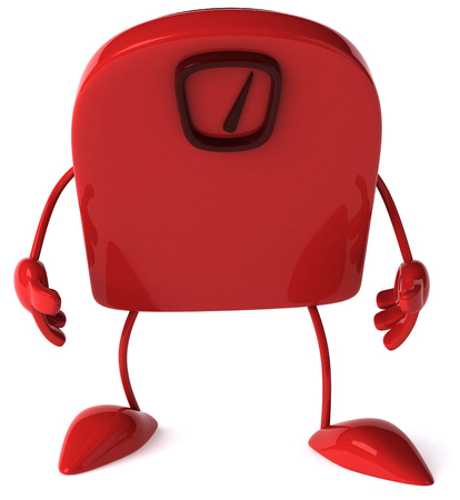 Weighing scale character